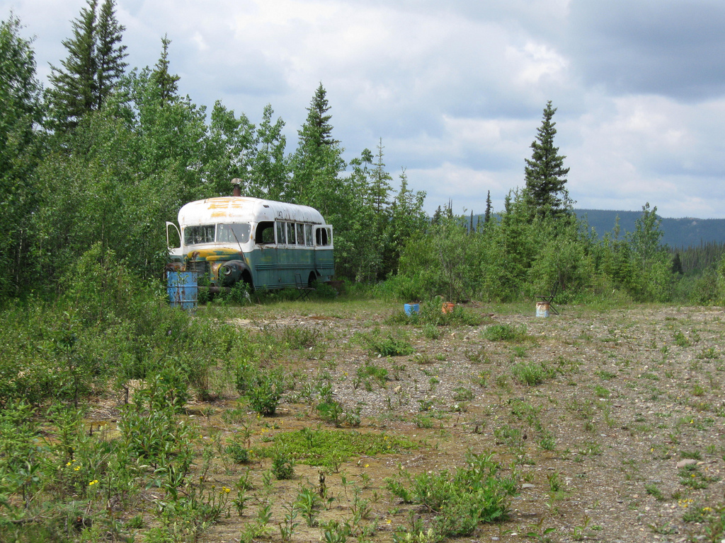 Visit The Bus From Quot Into The Wild Quot In Wild Alaska