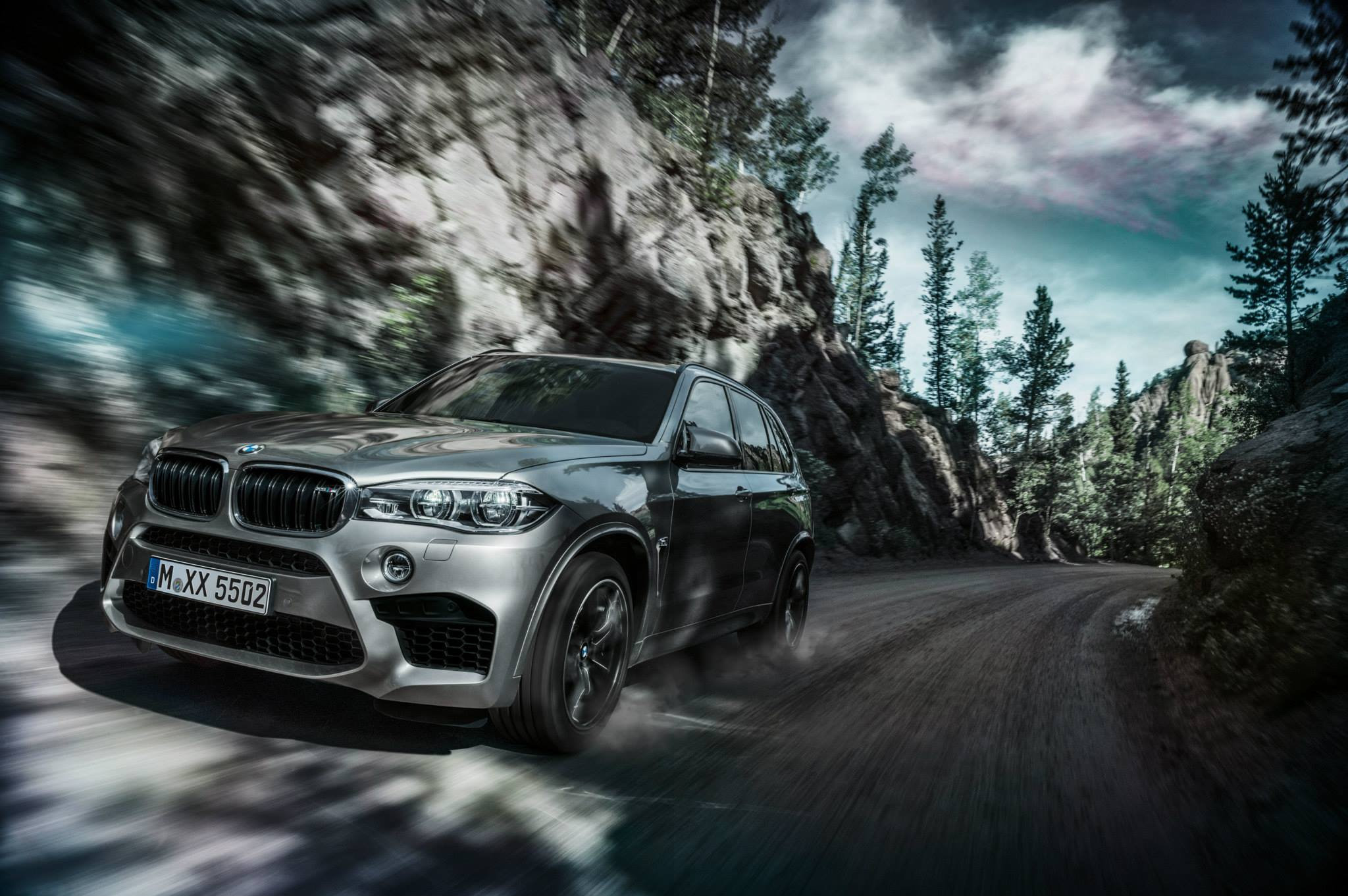 Your Batch of 2015 BMW X5 M and X6 M Wallpers Is Here - autoevolution