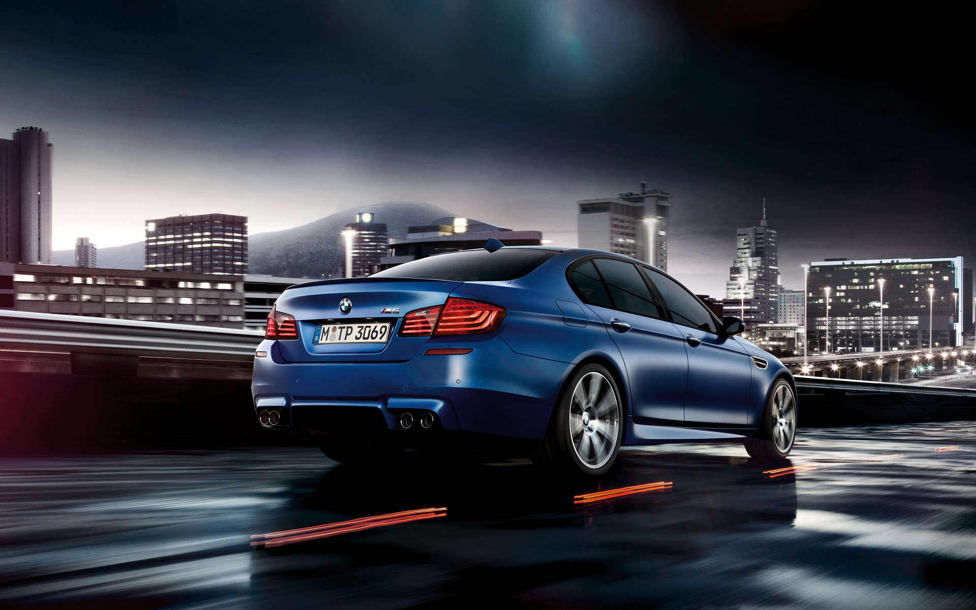 Your Batch of BMW M5 LCI Wallpapers Is Here - autoevolution