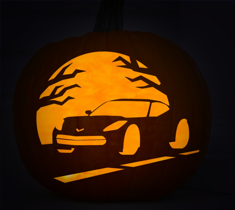 Bmw Convertible Cars: Your Halloween Chevrolet Pumpkin Stencils Are Here