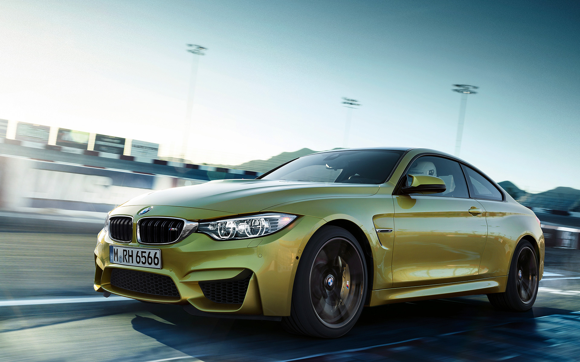 Your Ridiculously Beautiful BMW M4 Coupe Wallpapers Are ...