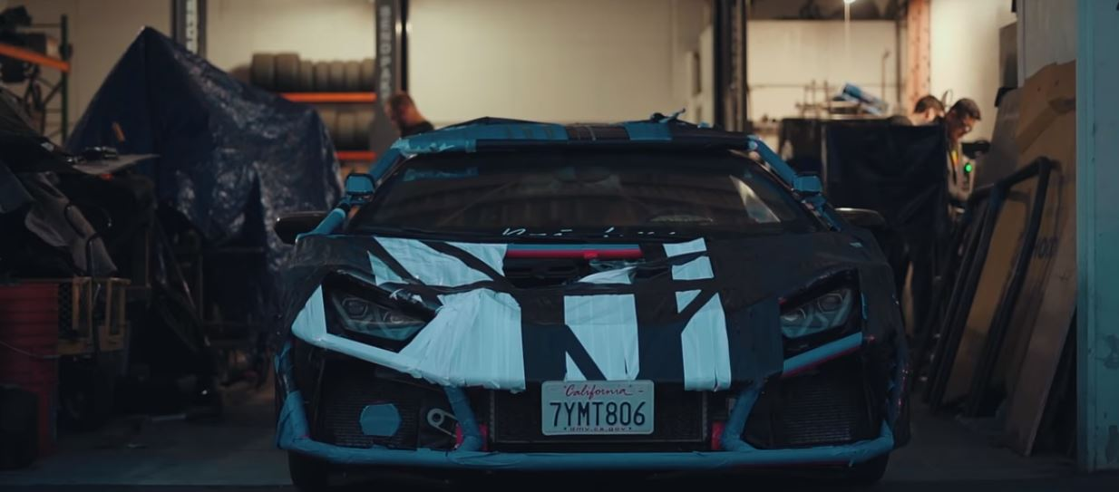 Update Youtuber Builds Lamborghini Huracan Rally Car With