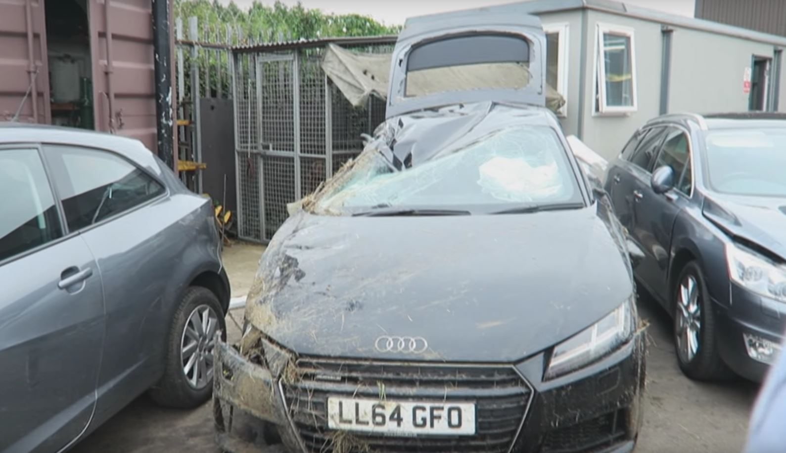 Youtuber Comedyshortsgamer Gets 9 Stitches Totals Audi Tt Autoevolution