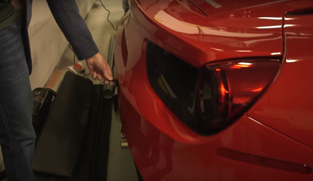 Youtuber Finds Magnet Like Battery Tender Hidden In His Ferrari 488 S Rear Apron Autoevolution