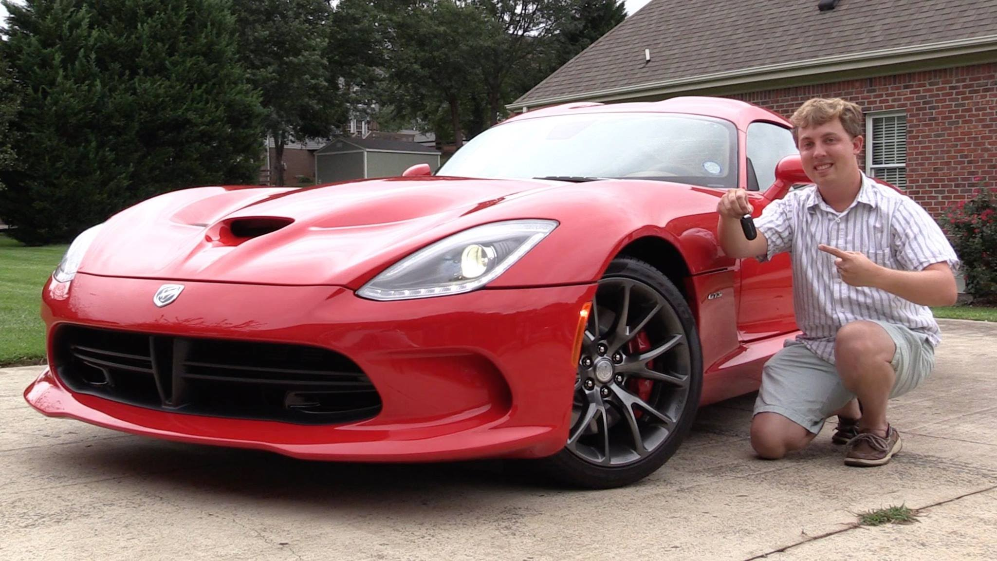 Youtuber Saabkyle04 Buys His Dream Car A Dodge Viper