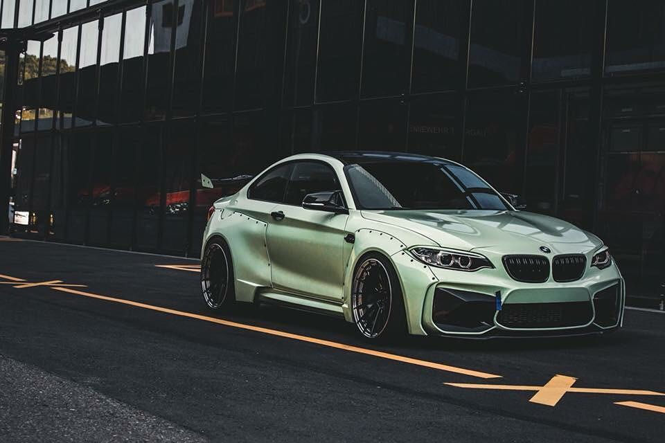 Z Performance Bmw M2 Is A Unique Widebody Beast