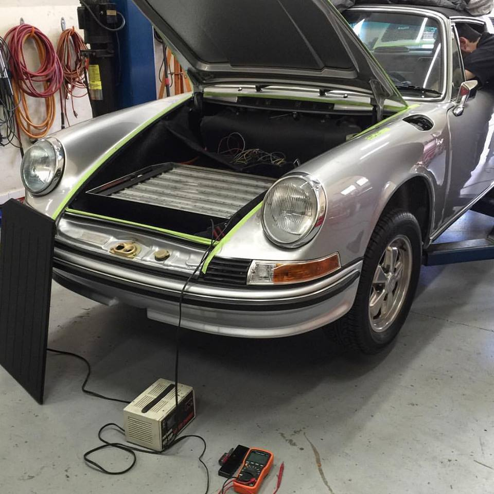 Zelectric Motors Z911 Is A Fully Electric 1973 Porsche 911