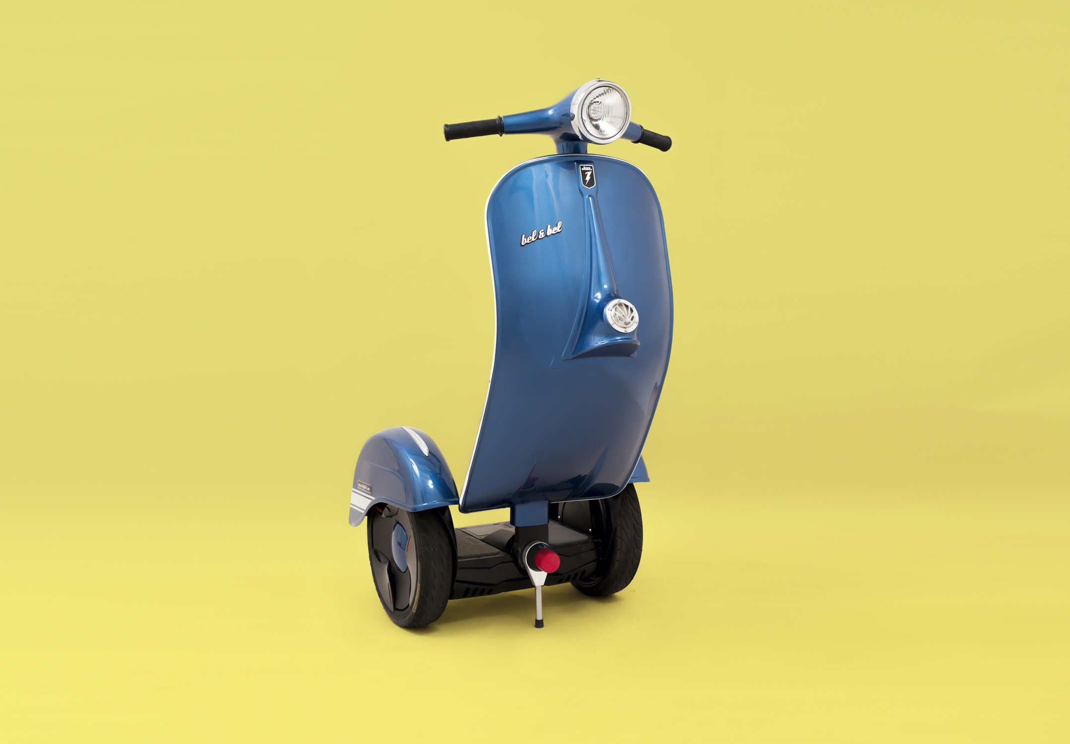 Zero Scooter Is The Real Deal Vespa Segway Based On The