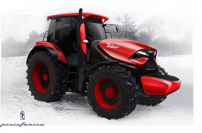 Tractor Wheels Concept : Zetor by pininfarina is a tractor concept we like photo