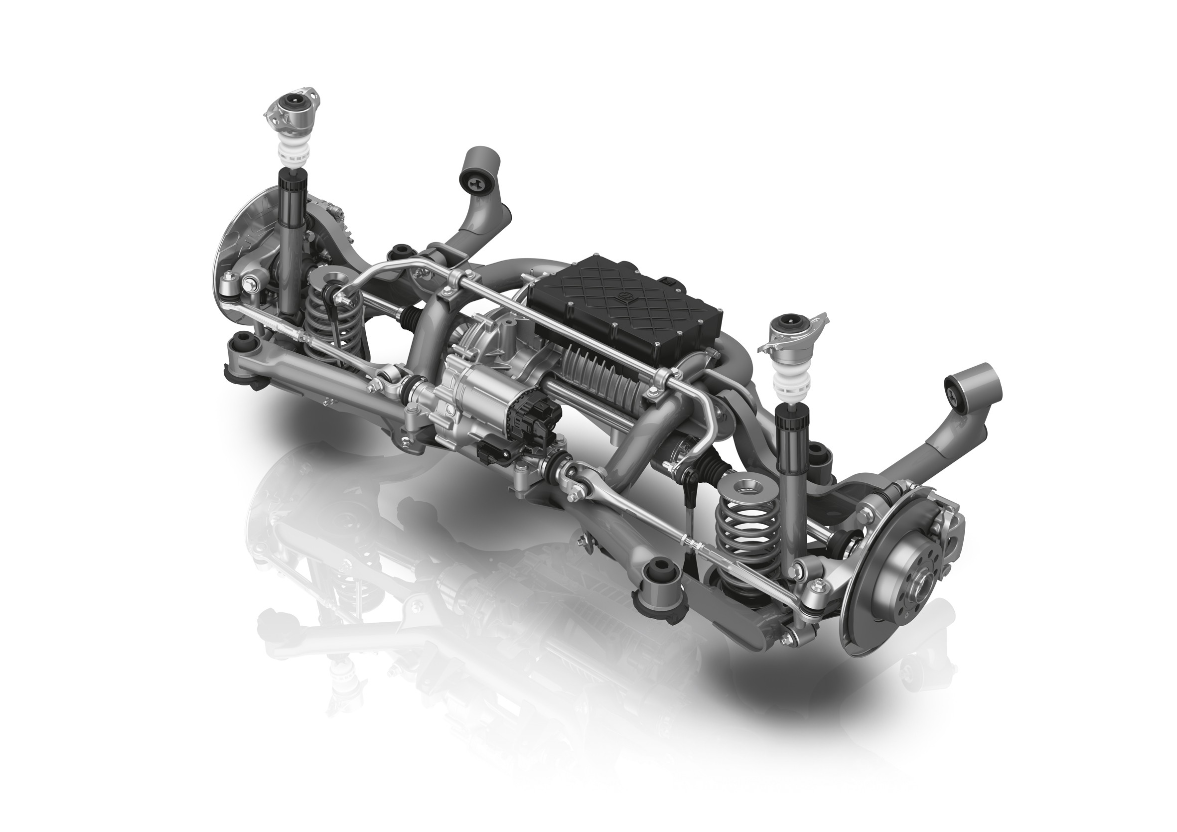 ZF's New Modular Rear Axle Has Steering and Electric Drive Options -  autoevolution