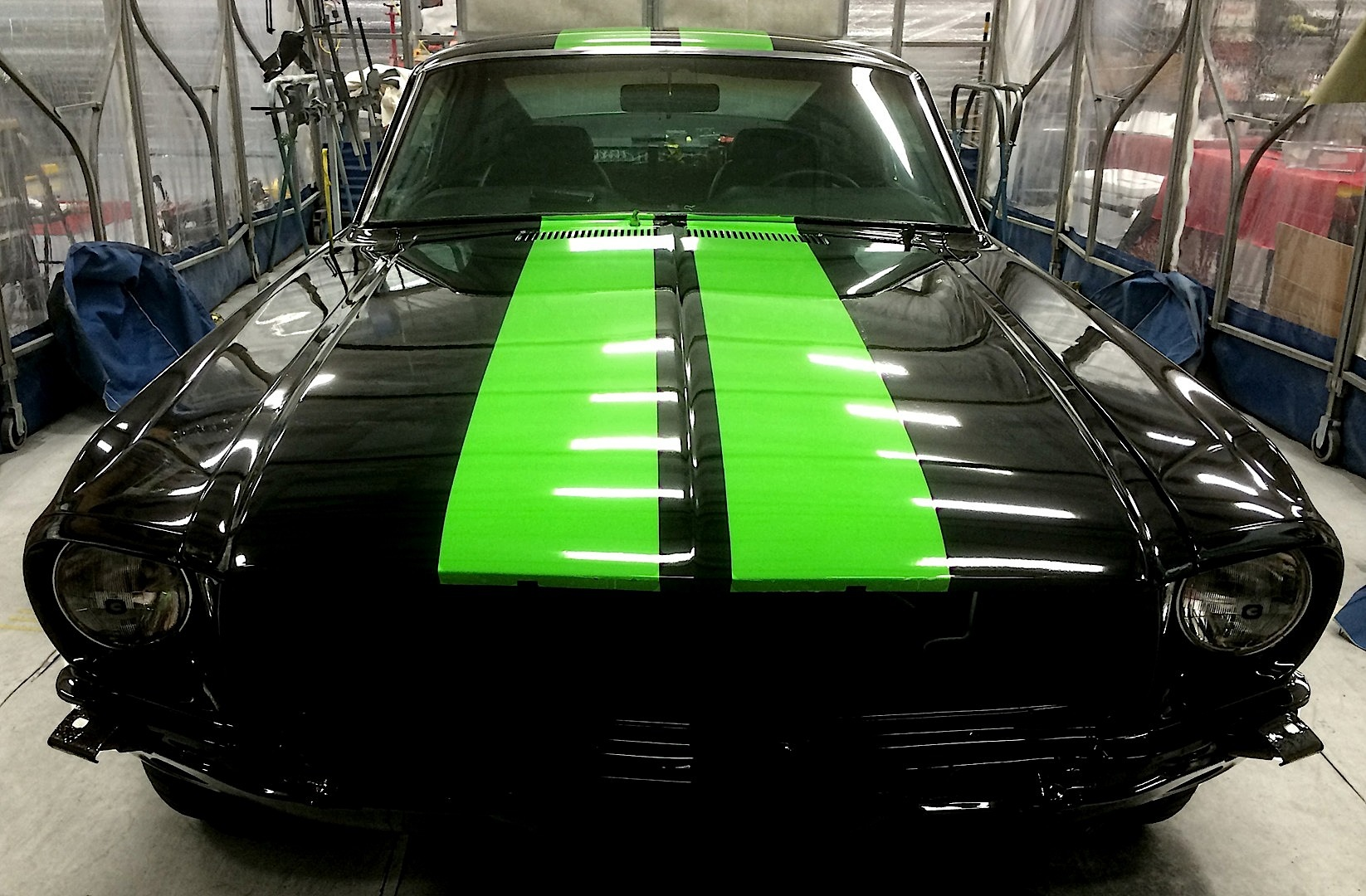 Zombie 222 Electric 1968 Mustang Is Ready To Burn Rubber