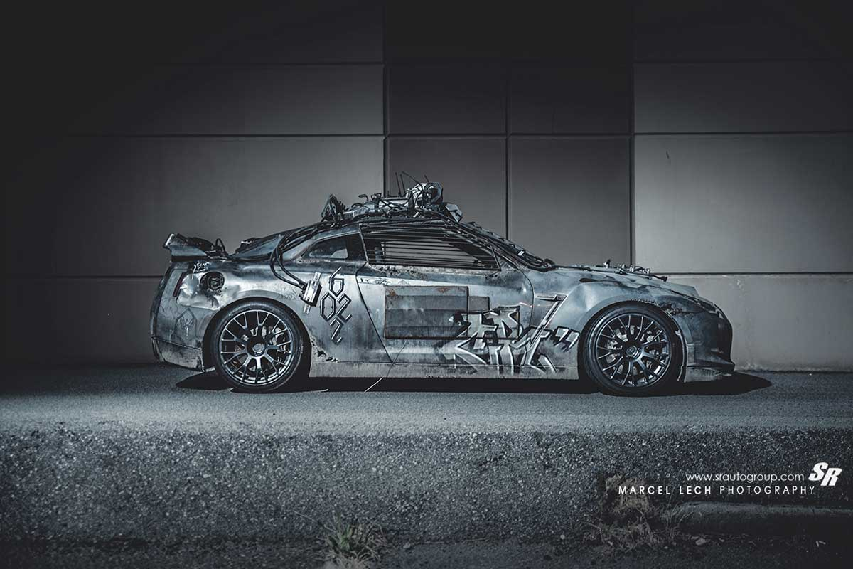 Bullet Proof Car >> Zombie Survival 101: 2154 Nissan R35 GT-R from Elysium ...