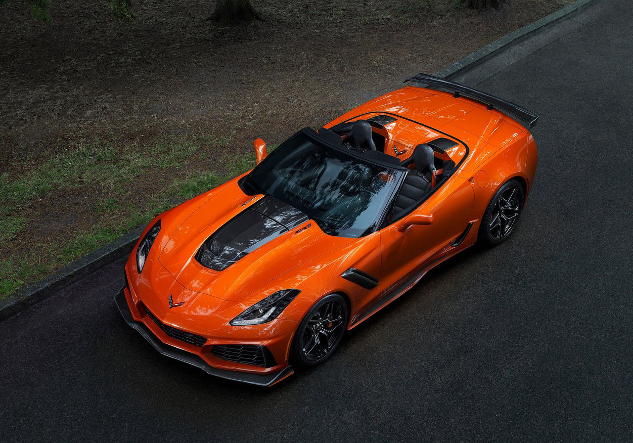 2019 Corvette Zr1 Convertible Locks Down On 2017 L A Auto