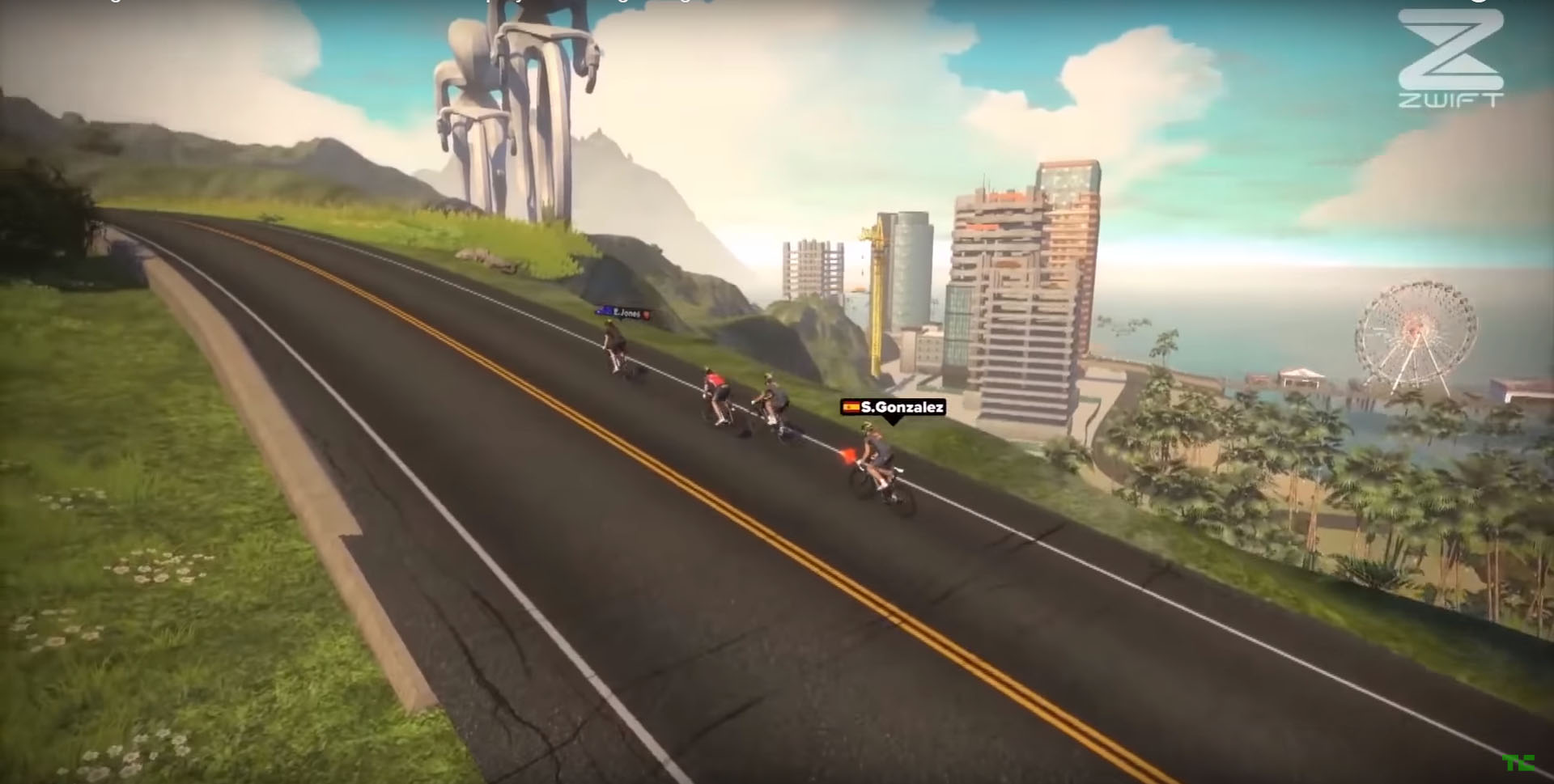 Zwift Is a Massive Multi-Player Online Game You Play with
