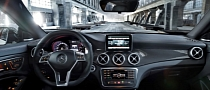 Garmin Navigation to Be Offered With Mercedes Infotainment Systems