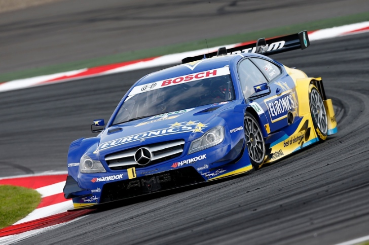Gary Paffett Takes Fifth Place at DTM's Moscow Raceway Debut [Photo Gallery]