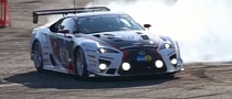 Gazoo Lexus LFA Does Smoking Donuts [Video]