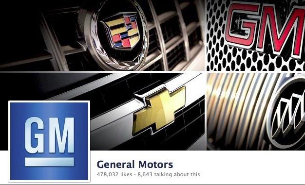 General Motors Returns To Facebook After Embarrassing