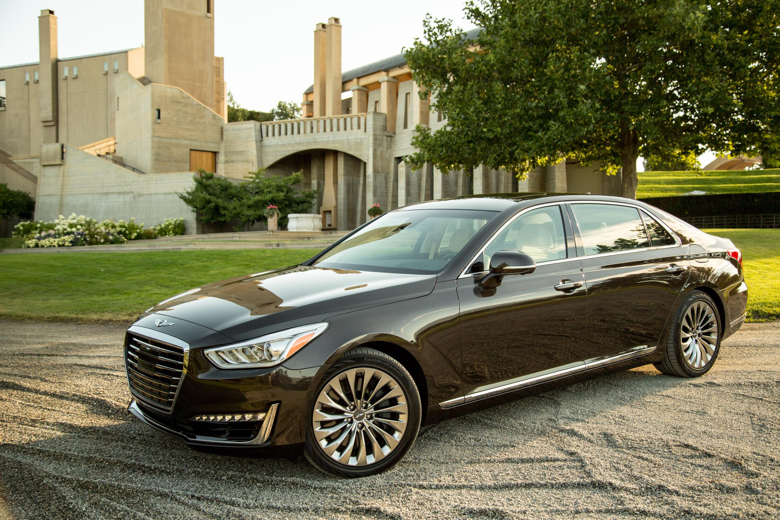 genesis g90 us pricing announced starts at 68 100 autoevolution. Black Bedroom Furniture Sets. Home Design Ideas
