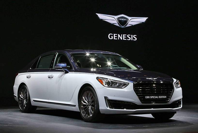 genesis goes all out in seoul announces g90 special edition g70 phevs and evs autoevolution. Black Bedroom Furniture Sets. Home Design Ideas