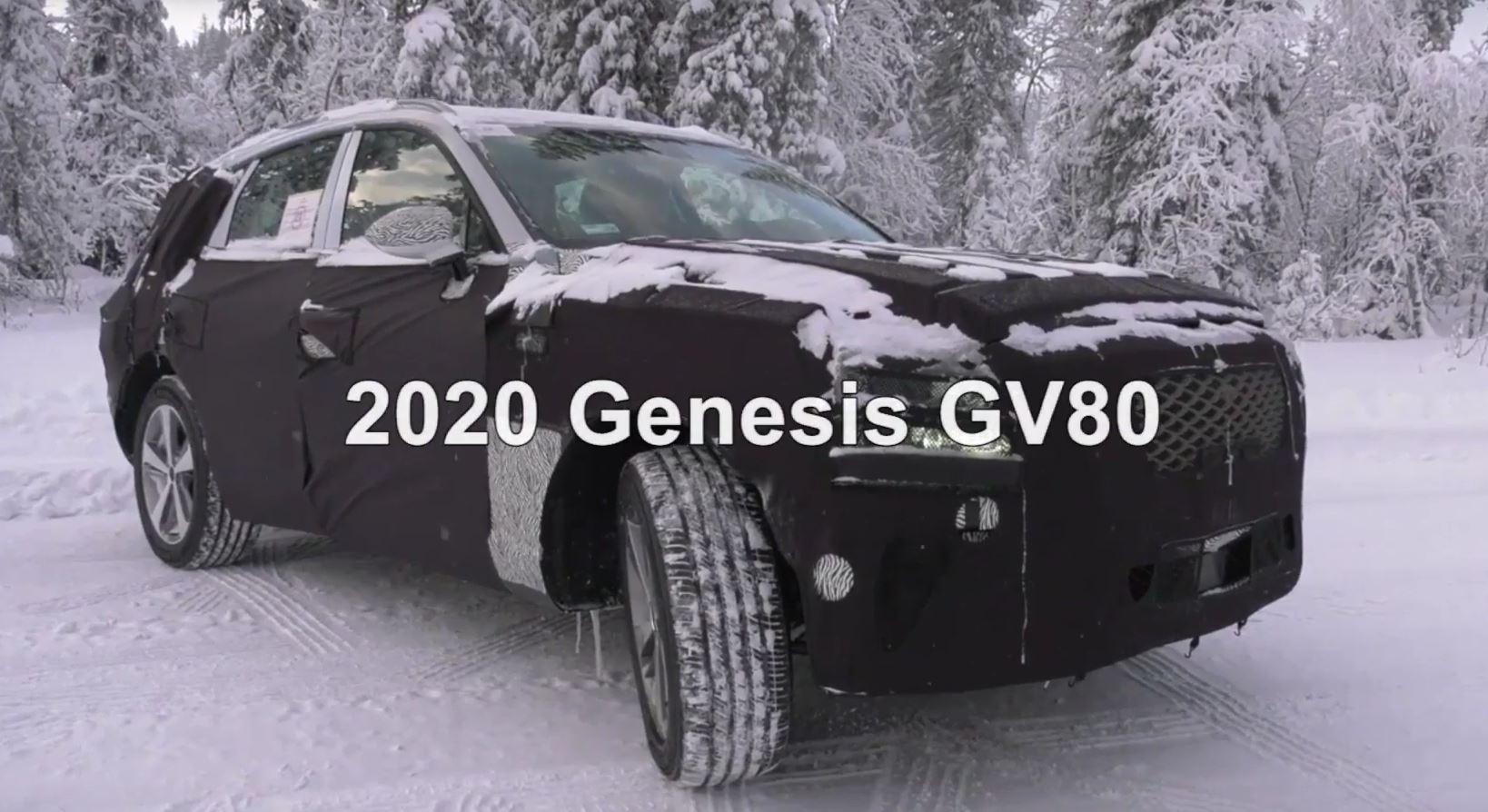 Genesis Gv80 Spy Video Takes Us Close To Luxury Suv Autoevolution
