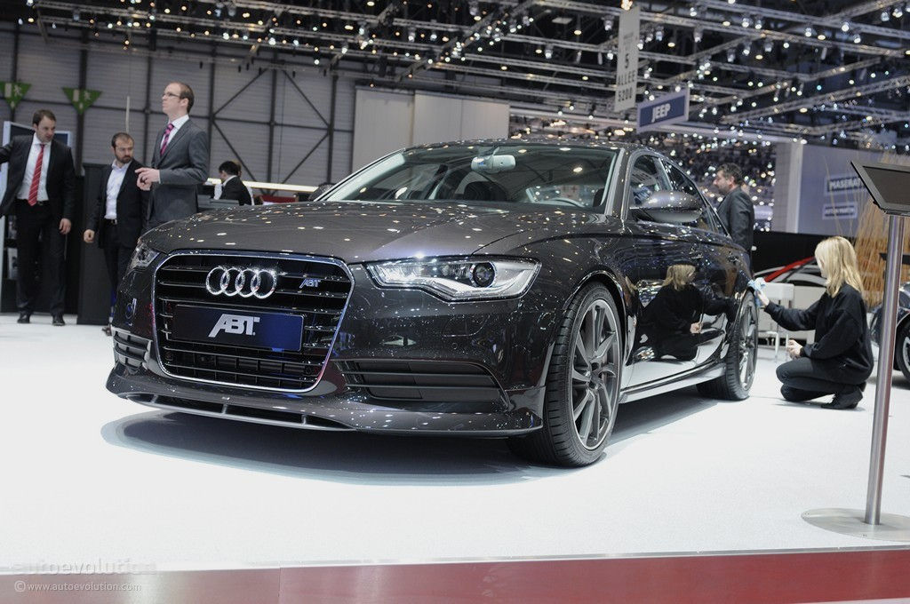 Geneva 2011: ABT Audi A6 [Live Photos] - autoevolution