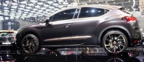 Geneva 2011: Citroen DS4 Purple Concept [Live Photos]