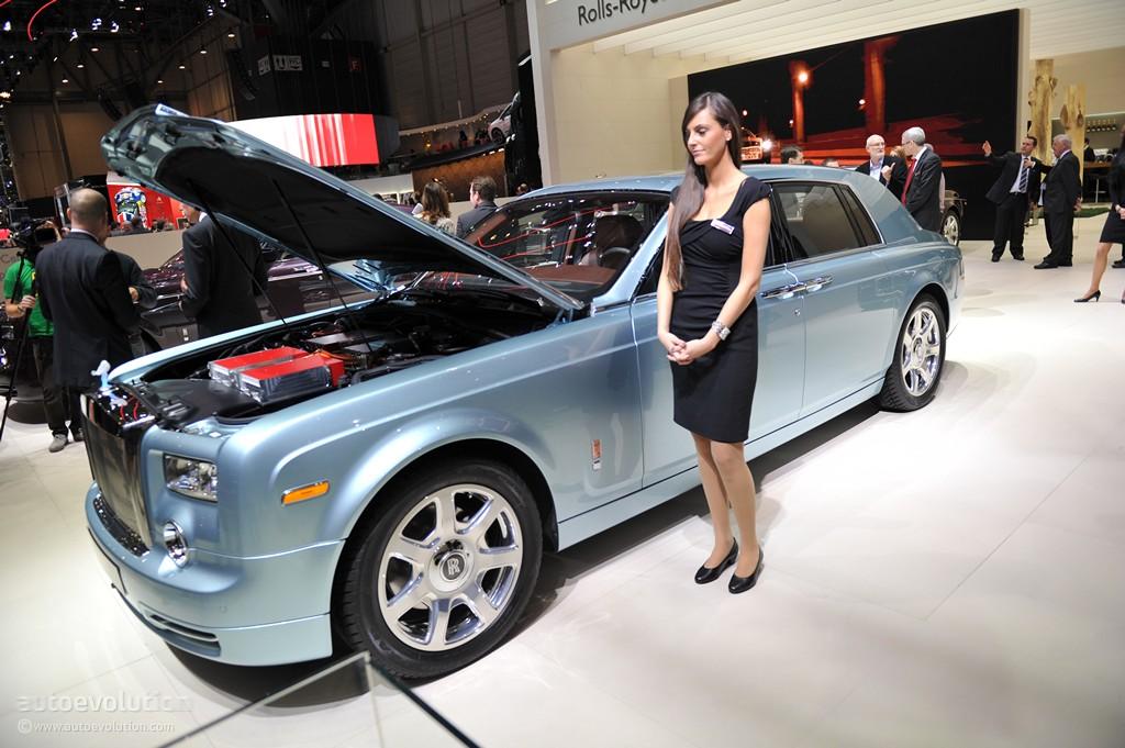 The Rolls Royce 102ex Phantom Electric