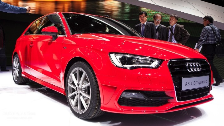 Geneva 2012: Audi A3 [Live Photos]