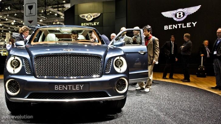 Geneva 2012 Bentley Exp 9 F Suv Concept Live Photos Autoevolution