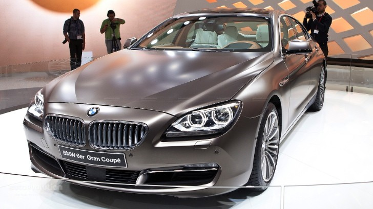 Geneva 2012: BMW 6-Series Grand Coupe [Live Photos]