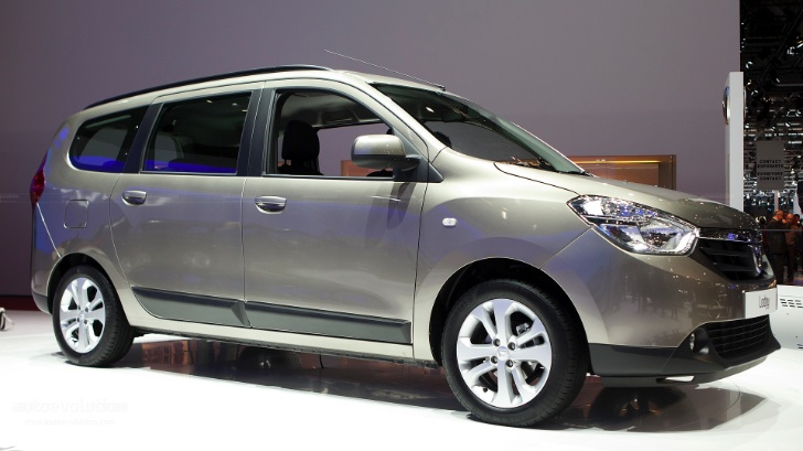 Geneva 2012: Dacia Lodgy Official Reveal [Live Photos]