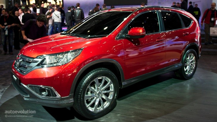 Geneva 2012: Honda CR-V European Prototype [Live Photos]
