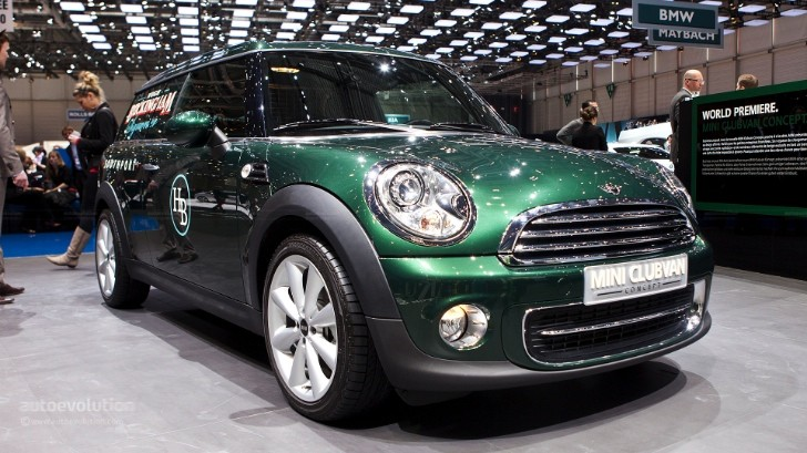 Geneva 2012: MINI Clubvan Concept [Live Photos]