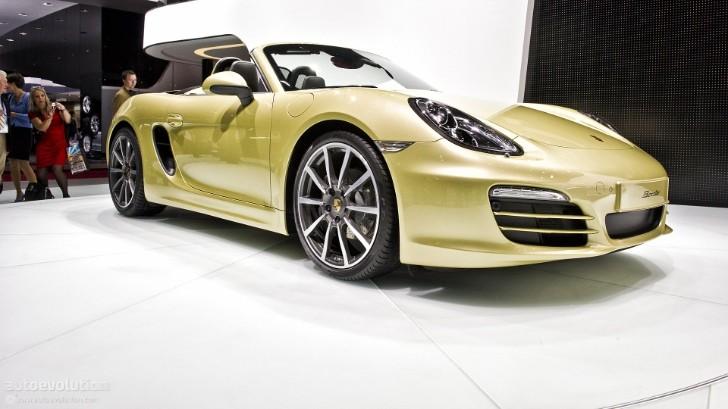 Geneva 2012: Porsche Boxster [Live Photos]