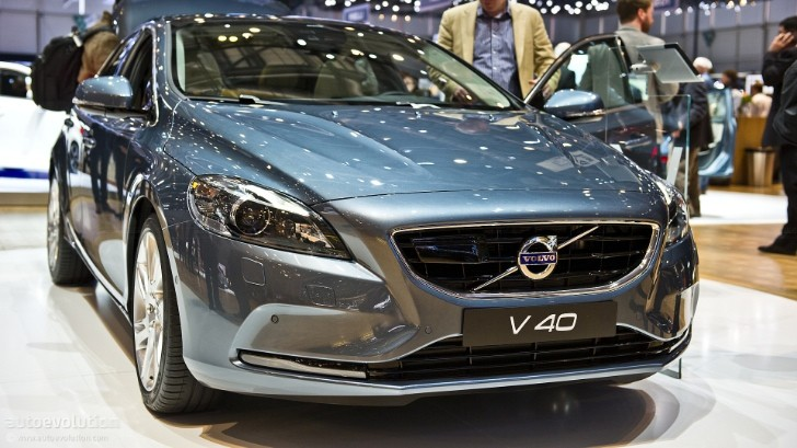 Geneva 2012: Volvo V40 [Live Photos]