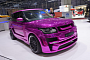 Geneva 2013: Chrome Pink Range Rover by Hamann [Video] [Live Photos]