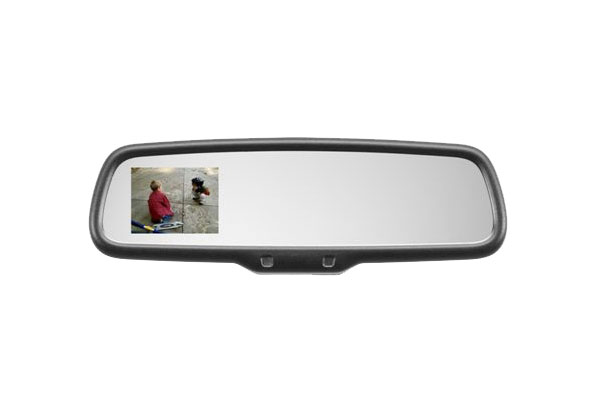 gentex mirror with rear view camera receives positive reviews autoevolution. Black Bedroom Furniture Sets. Home Design Ideas