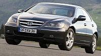 The brand new 2005 Honda Legend that tackles the upper mid-range class