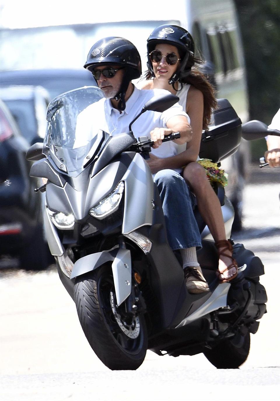 George Clooney Serious...