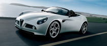Germany, Top Market for Alfa 8C Spider