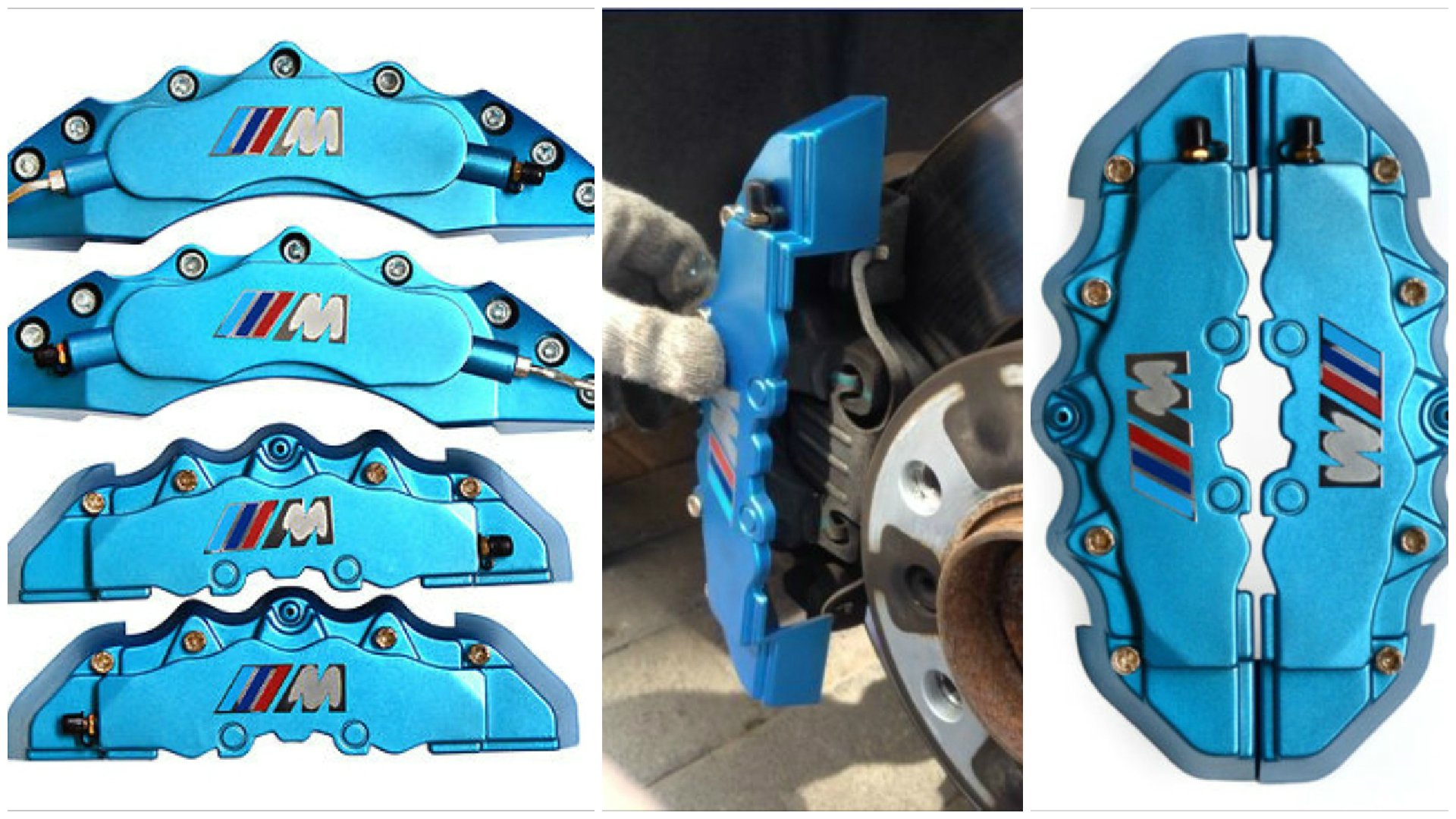 Get Fake Bmw M Brakes With These Easy To Install Caliper Covers Autoevolution