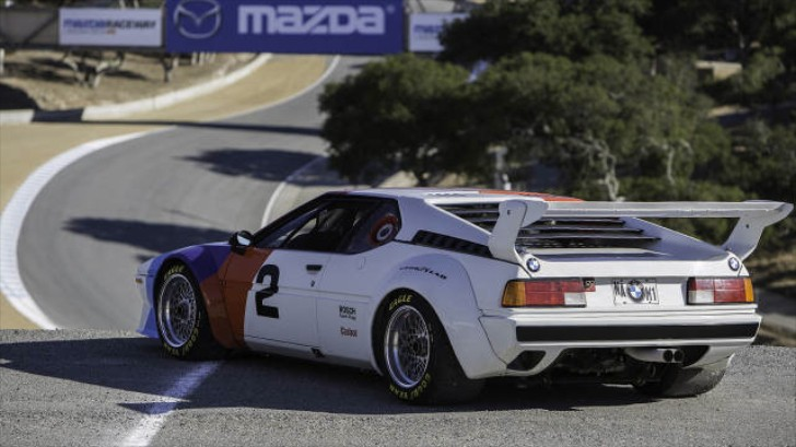 Get Inside a BMW M1 Procar and Chase Down a Porsche 935 on Laguna Seca [Video]