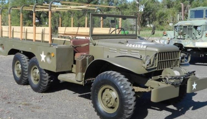 Get Your Own Dodge Wc64 Military Truck For Only 22 Grand