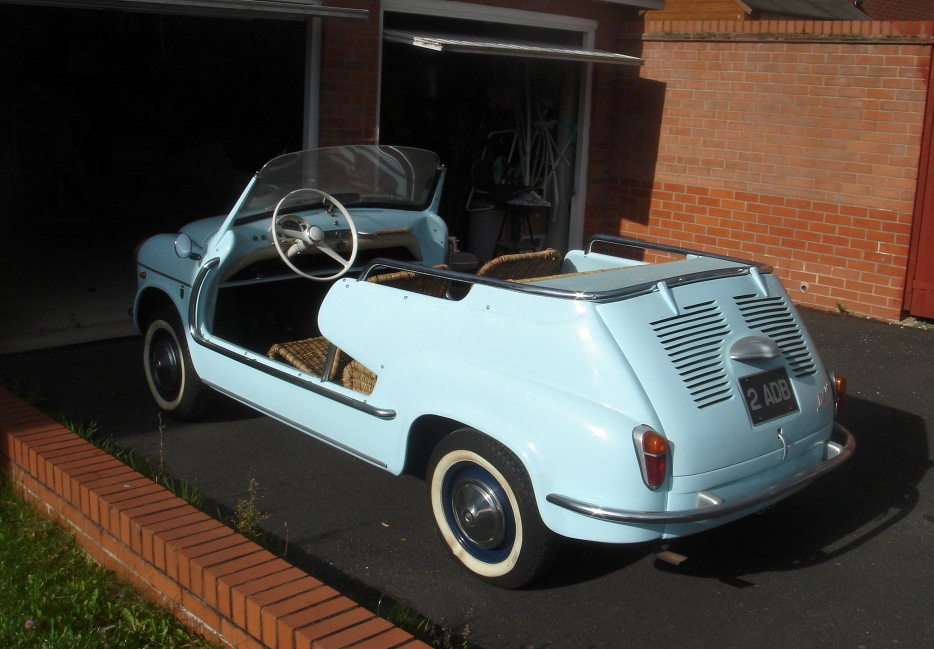 Gianni Agnelli S Fiat Jolly Car Almost Auctioned