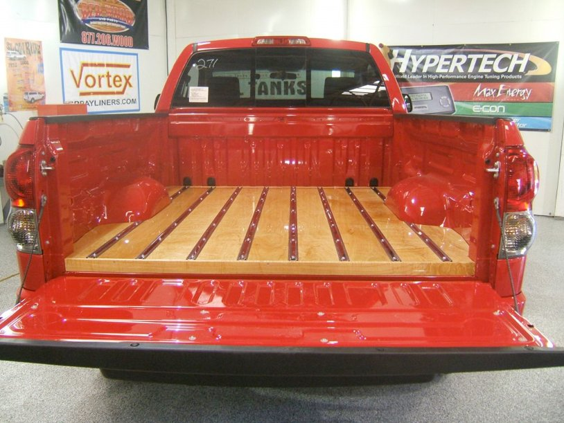 Gift Your Truck with a Wood Bed Liner - autoevolution