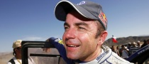 Giniel de Villiers New Dakar Leader after Sainz Crash