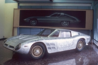 The original prototype for the Iso Grifo A3/C, without the paint.