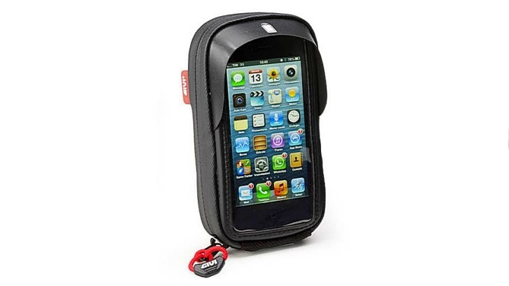 Givi's New iPhone 5 Motorcycle Holder Has the Old Cable Opening