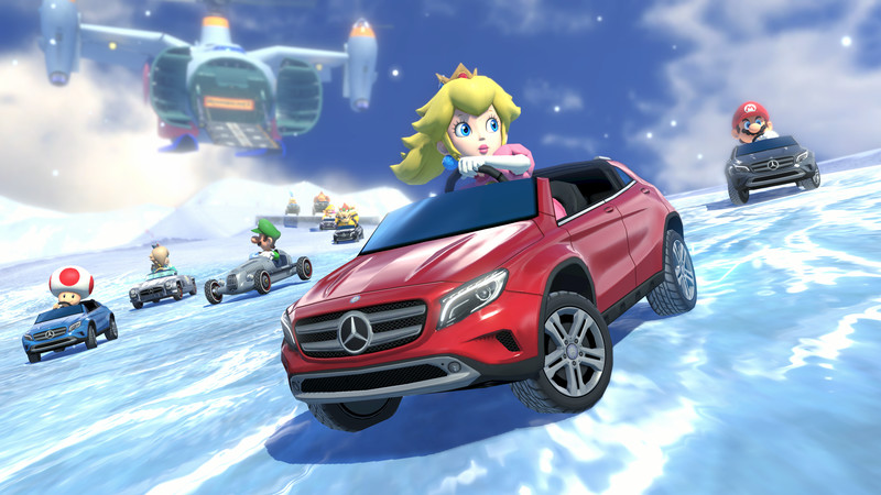 Gla 300 Sl And Silver Arrow Mercedes Cars Coming To Mario